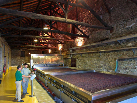 Moncharm, wine making