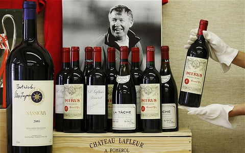 Moncharm, Wine investment, Sir Alex Ferguson