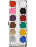 AQUACOLOR PALETTE 12 ΧΡΩΜΑΤΑ