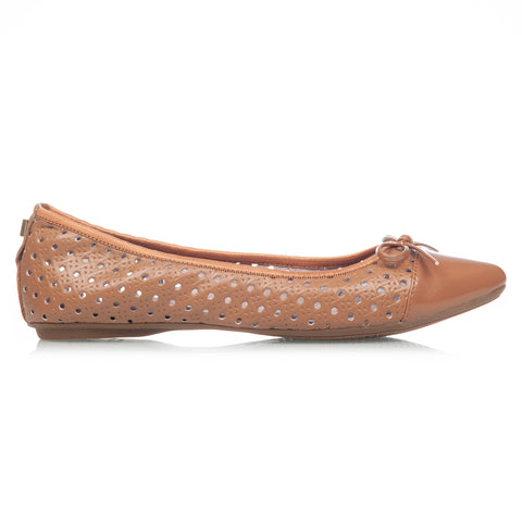 HOLLY TAN PERFORATED WOVEN