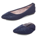 JANEY DENIM CRYSTALS