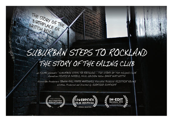 Suburban Steps To Rockland - Film Postcard