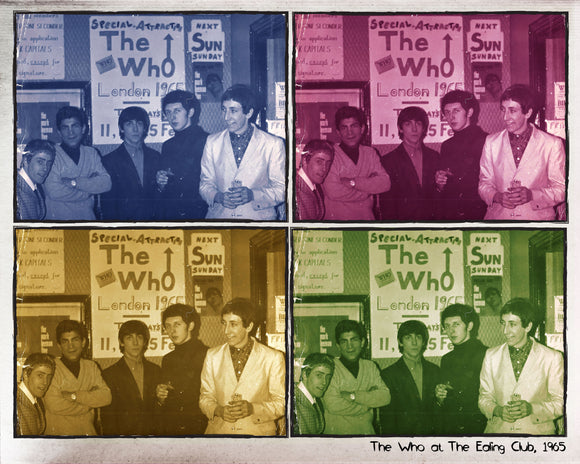 Limited Edition Print feat. The Who @ The Ealing Club (1965)