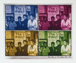 Limited Edition Print feat. The Who @ The Ealing Club - SIGNED BY PETE TOWNSHEND