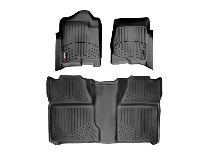 Weather Tech 2007-2013 Silverado / Sierra ( Front & Rear Set )