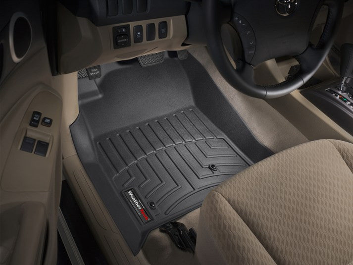 WeatherTech 05-2015 Toyota Tacoma Weather Tech Floor Mats (Front Mats, Auto Trans)
