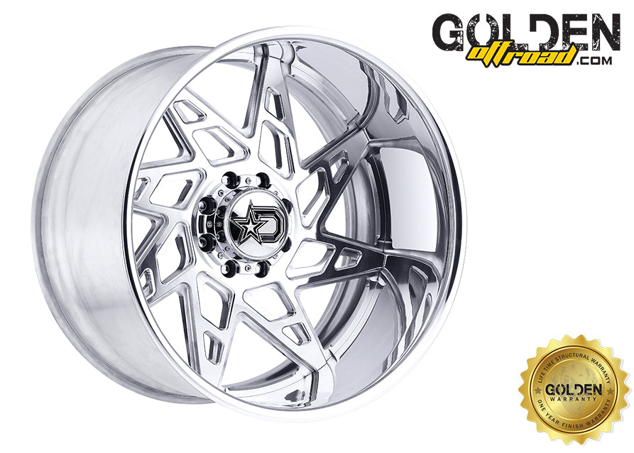 Droptstar - F60P1 22X12 6X5.50 Polished 108.00