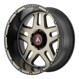 ASANTI OFF ROAD-AB809 20x9 5x150.00 MATTE BLACK MACHINED W/ TINTED CLEAR (40 mm)