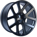 OE CREATIONS-107C 22x10 5x139.70 SATIN BLACK (25 mm)