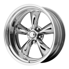 AMERICAN RACING-CUSTOM TORQ THRUST II 20x8 5x114.30 TWO-PIECE POLISHED (-11 mm)