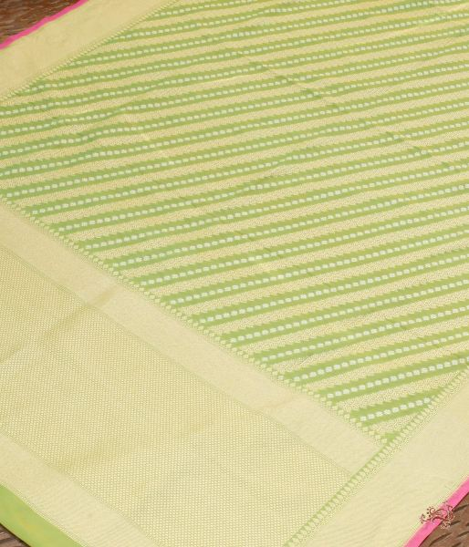Light Green Aada Bel Cutwork Dupatta Dupatta