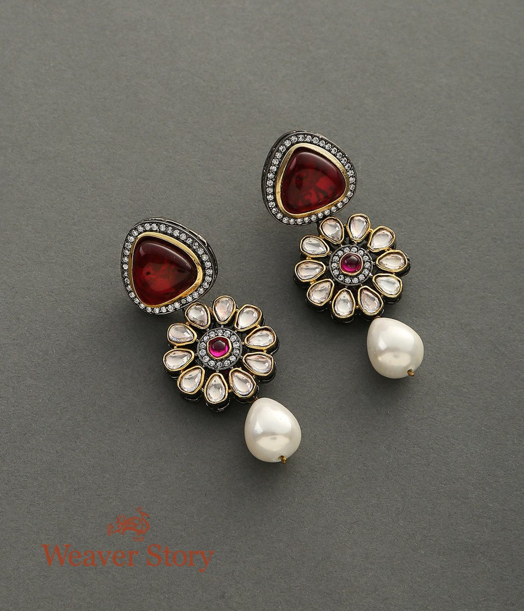 Victorian Floral Earrings