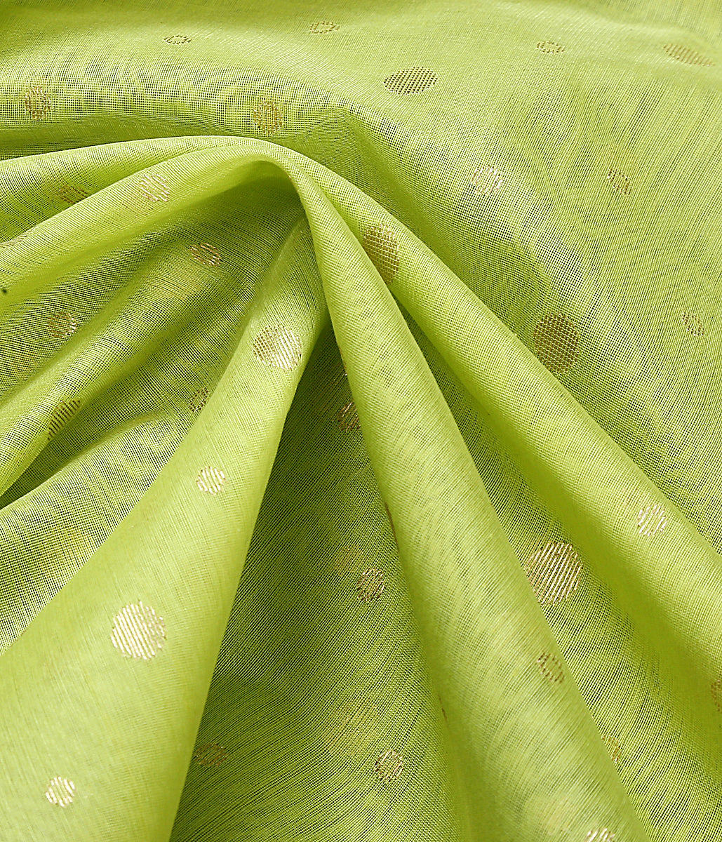 Green Asharfi Boota chanderi cotton silk Dupatta