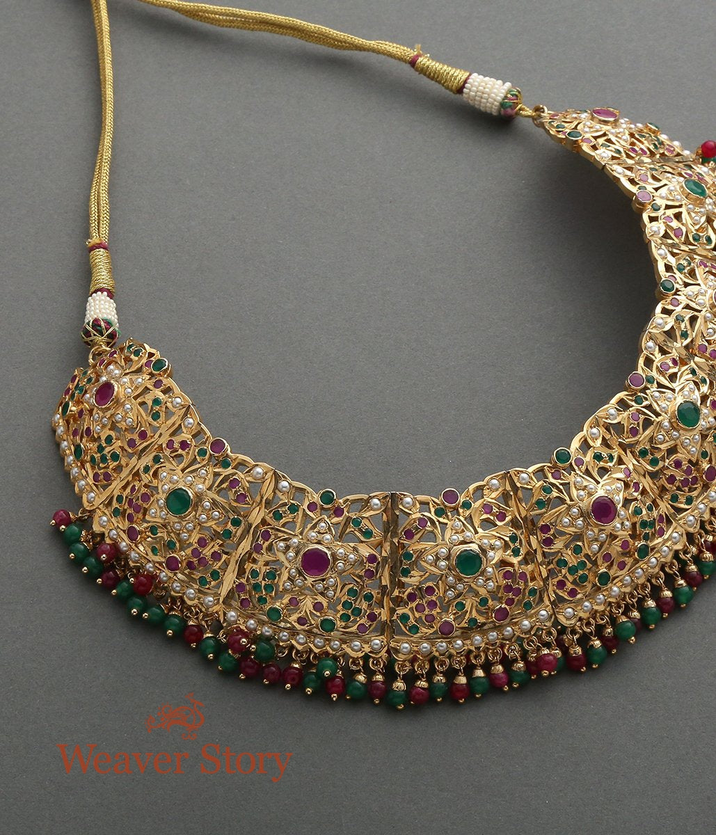 Jadau Choker Necklace