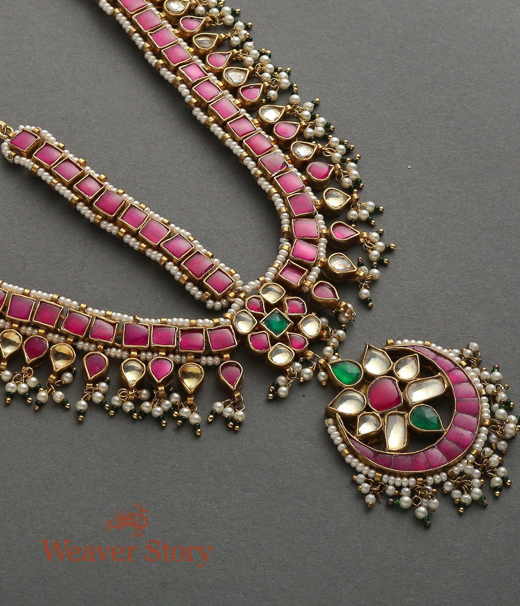 Kundan Mathapatti Adorned with Rubies