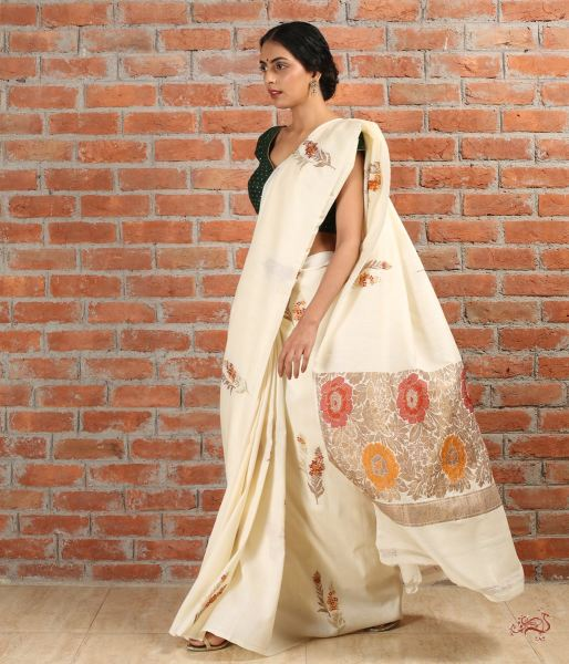 Handwoven Pure Munga Silk Saree Saree
