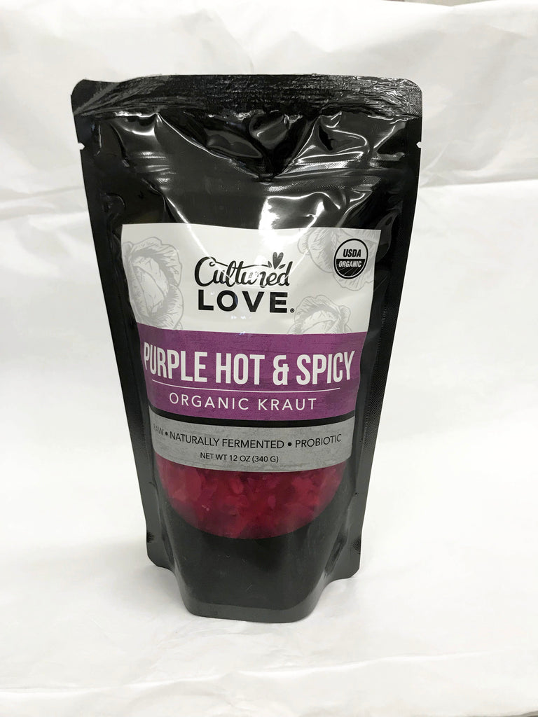 Purple Hot & Spicy Kraut