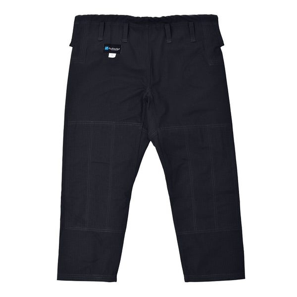 Pants Only Ripstop Fabric - by JiuJitsufied Kimono Brand Co. - Black