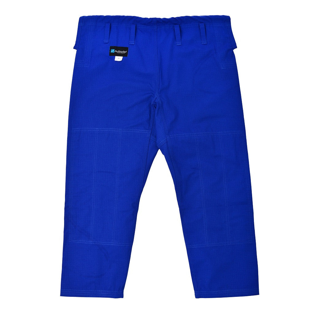 Pants Only Ripstop Fabric - by JiuJitsufied Kimono Brand Co. - Blue