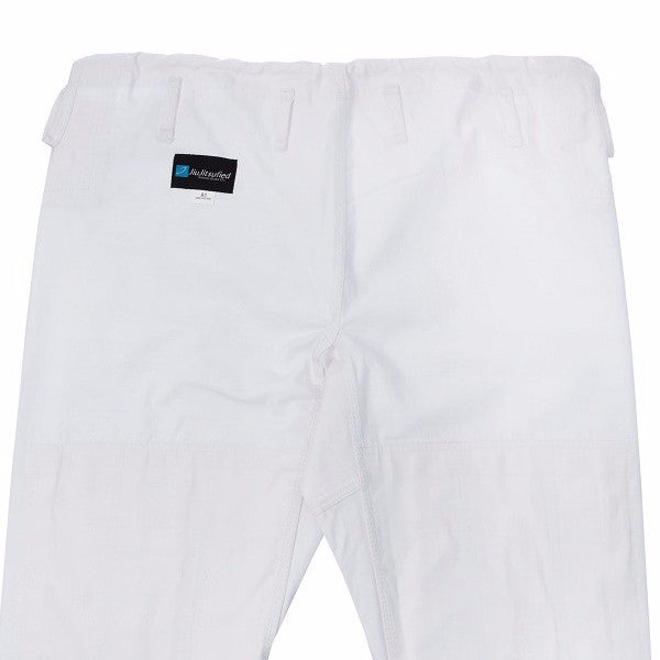 Pants Only Ripstop Fabric - by JiuJitsufied Kimono Brand Co. - White