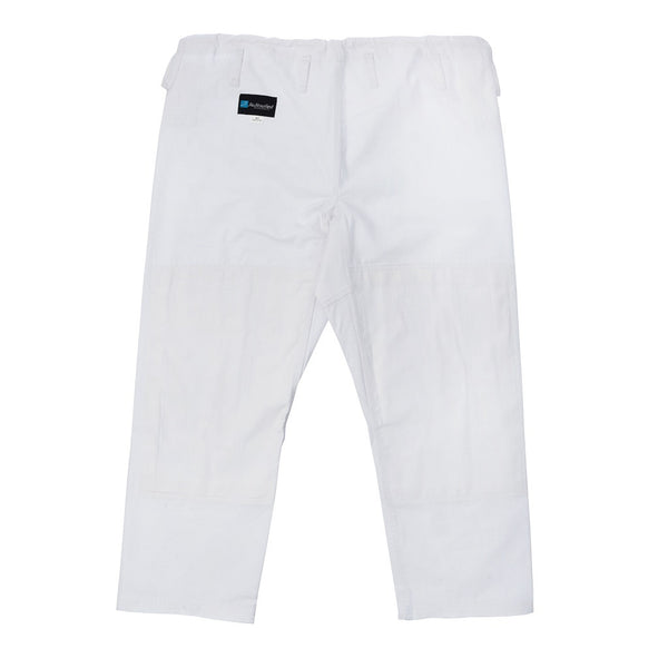Kids JiuJitsufied Kimono Brand Co. - BJJ Pants -Ripstop Fabric - White