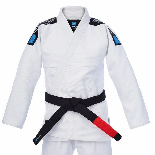 Pearl Weave Jacket & Pants Ripstop Fabric- BJJ Gi (White)