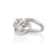 Bubbly Waves Diamond Engagement Ring | Palladium White Gold