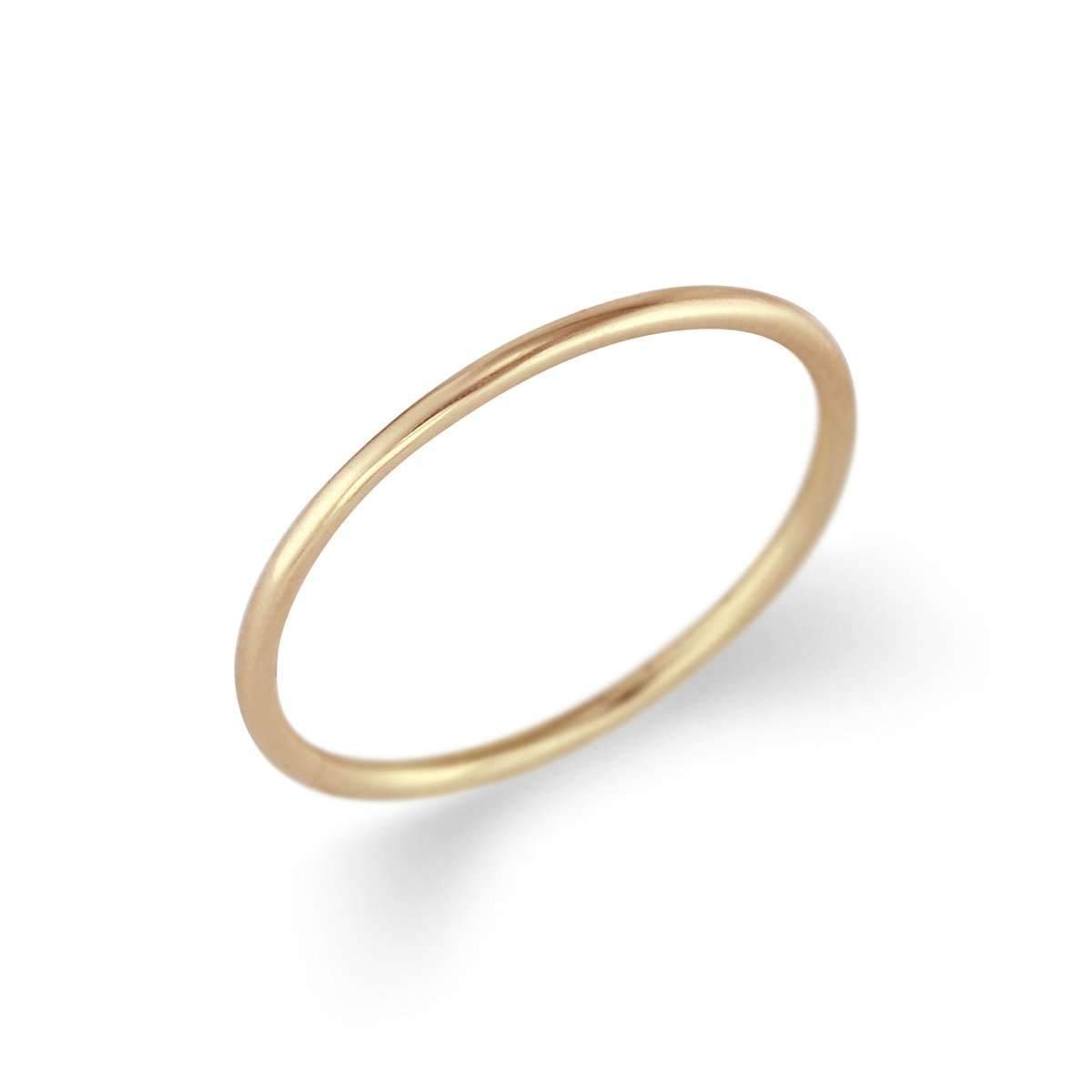 Petite Smooth Ring Band-Alysha Whitfield