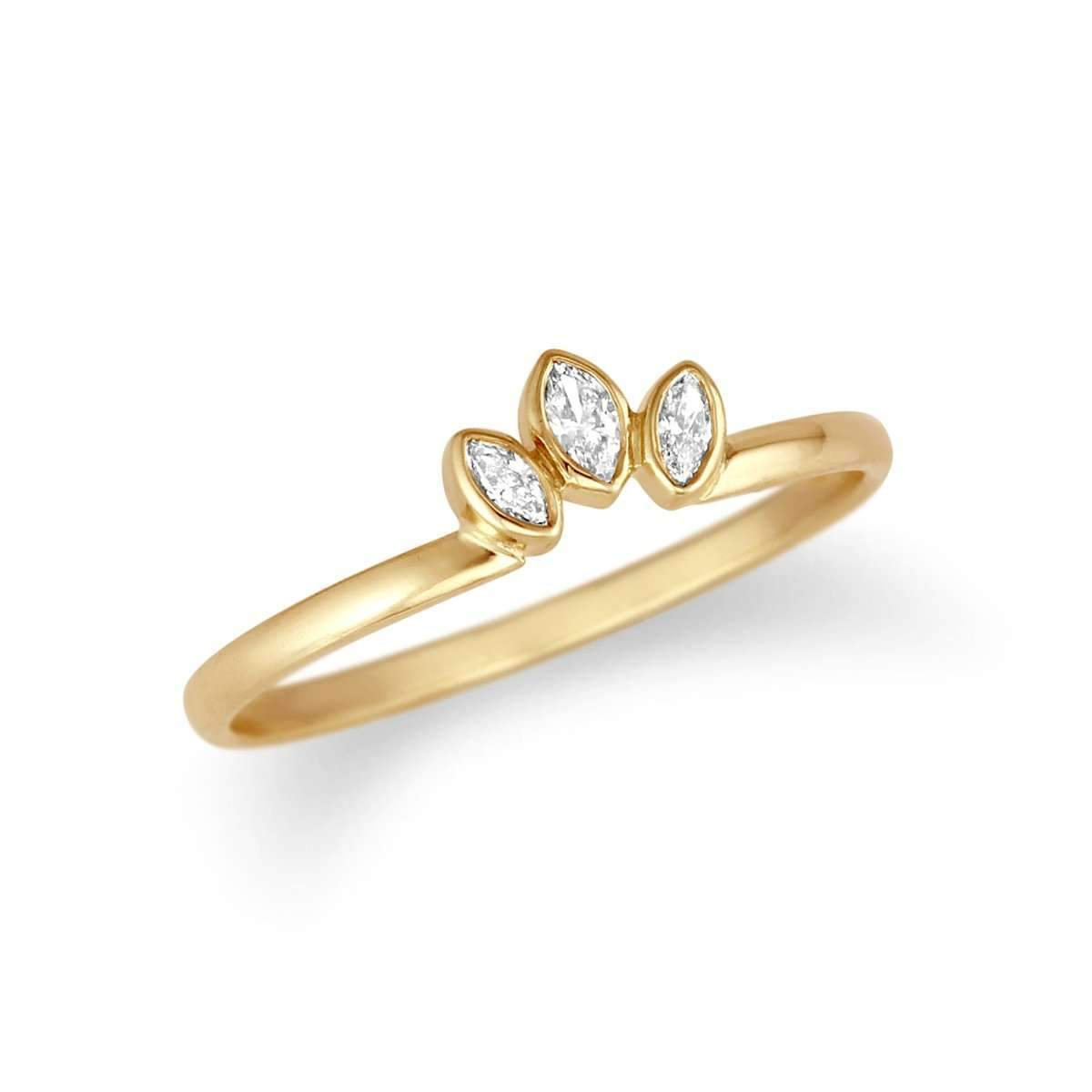 Petite Marquise Diamond Ring Enhancer-Alysha Whitfield