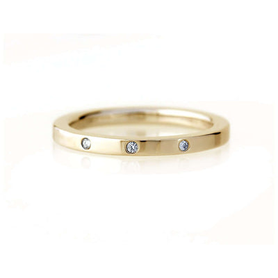 Flat Band | 2mm | Yellow Gold