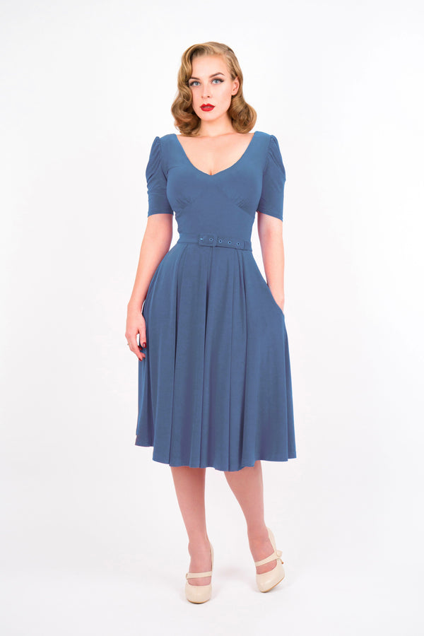1940s Dresses | 40s Dress, Swing Dress Dresses £110.00 AT vintagedancer.com
