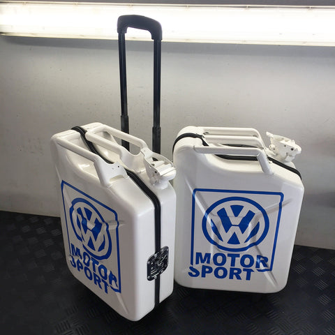 Vw Motorsport Limited Edition White - G-case Travelcase - Official Store! - 1