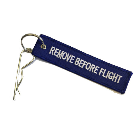Remove Before Flight Blue tag - G-case Travelcase - Official Store!