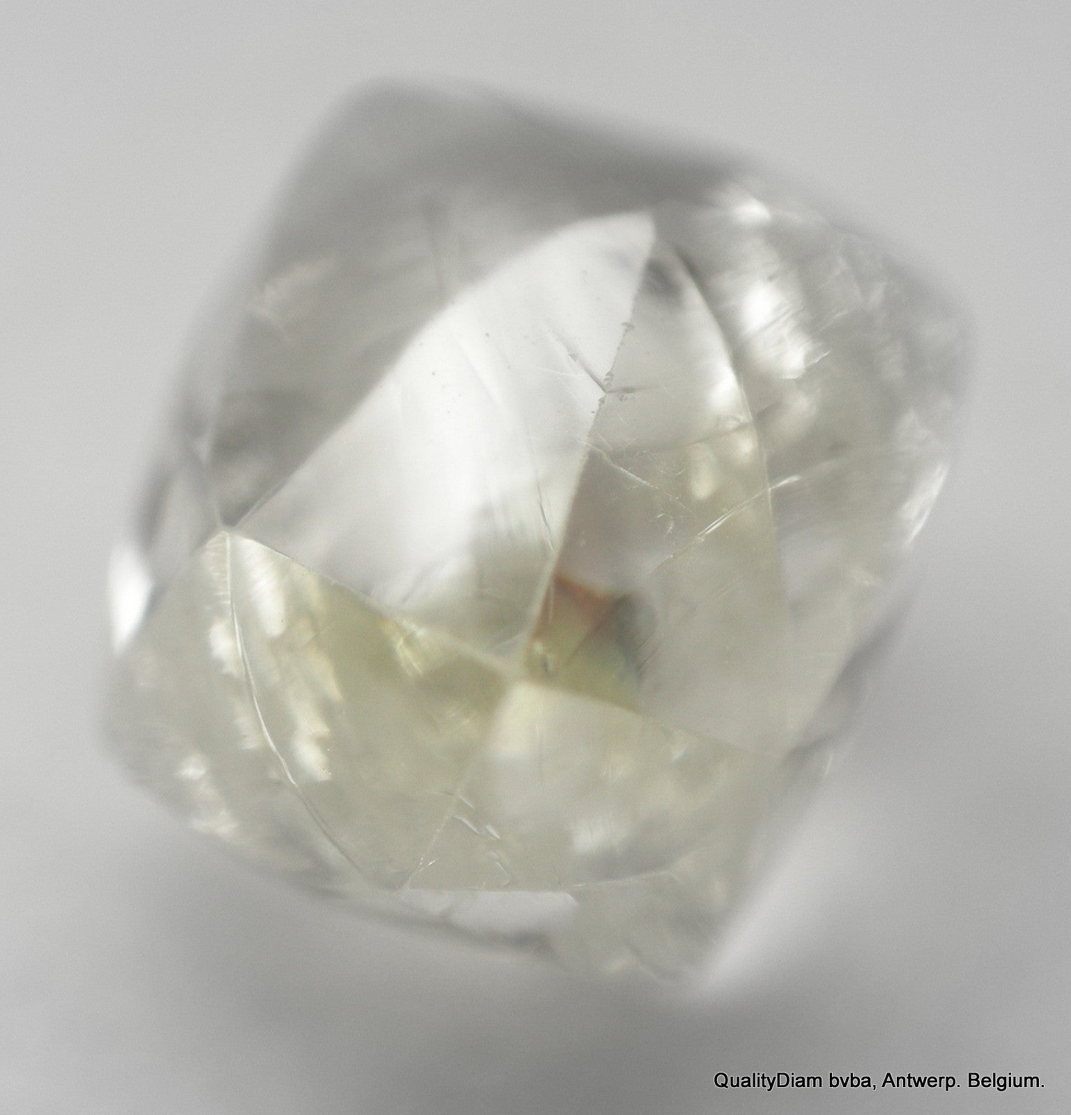0.78 Carat Raw Mackle Shaped Rough Natural Diamond