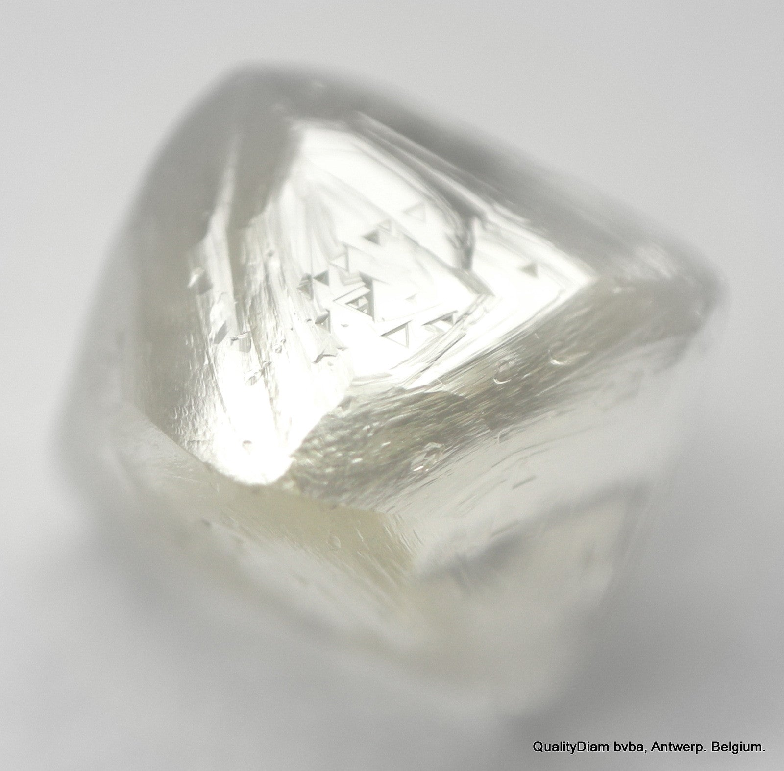 I VVS1 0.55 CARAT Billion Year Old Octahedron shaped Natural Raw Diamond