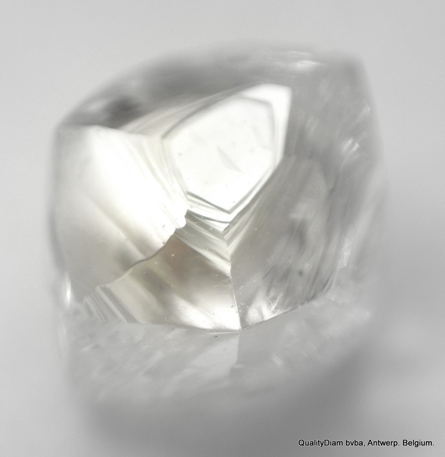 H VS1 0.69 CARAT Precious Natural Diamond in Octahedral shape with High Clarity