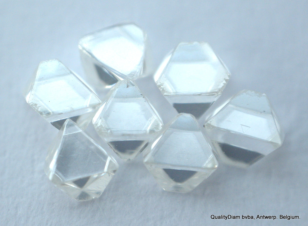 D Vvs1 Beautiful Octahedron Diamonds Out From Diamond Mines