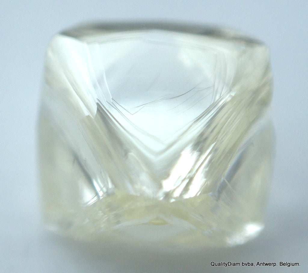 J Flawless 0.78 Carat Genuine Octahedral Gem Diamond Mine Natural Diamond