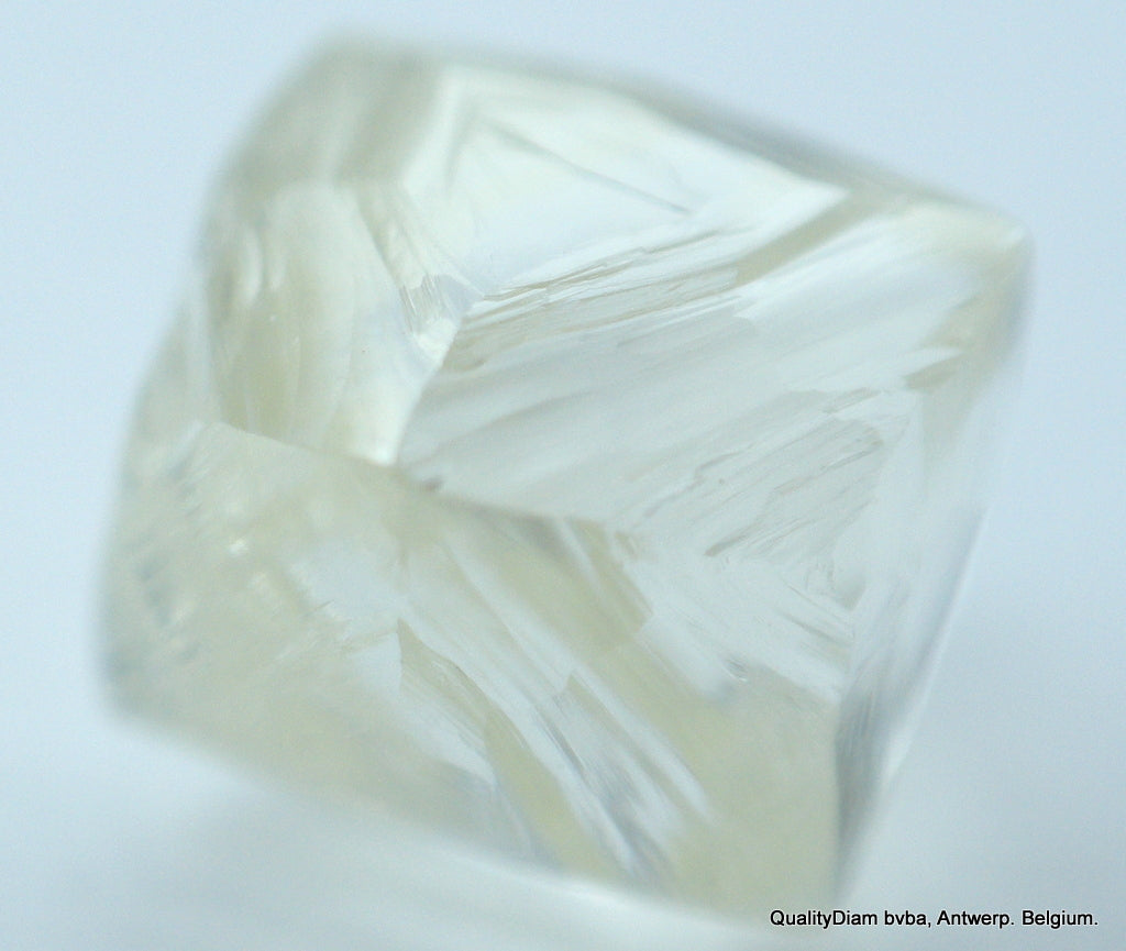 Out From Diamond Mine. Recently Mined Natural Diamond 0.61 Carat I Vvs1