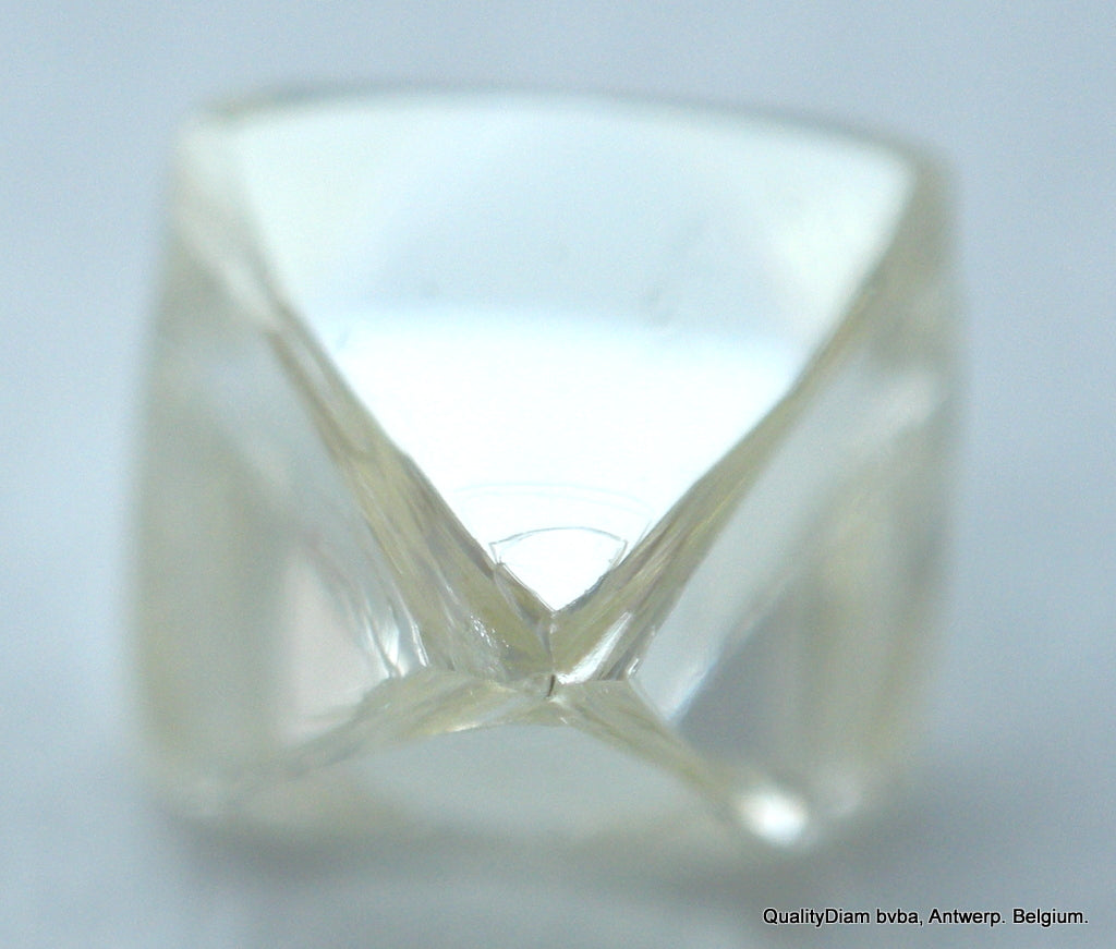 0.34 Carat H Vvs1 Beautiful Diamond Crystal Out From A Diamond Mine Real Diamond