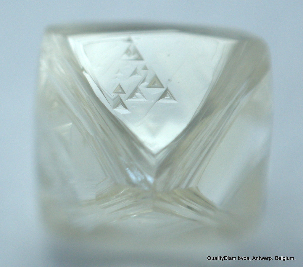 For Uncut Diamonds Jewelry: 0.74 Carat I Flawless raw Natural Diamond