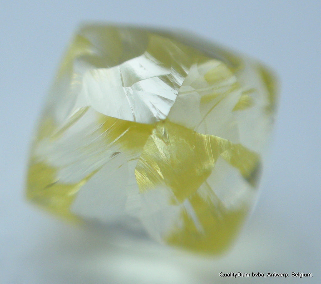 Real Is Rare: Intense Fancy Yellow 0.51 Carat Recently Mined Natural Diamond