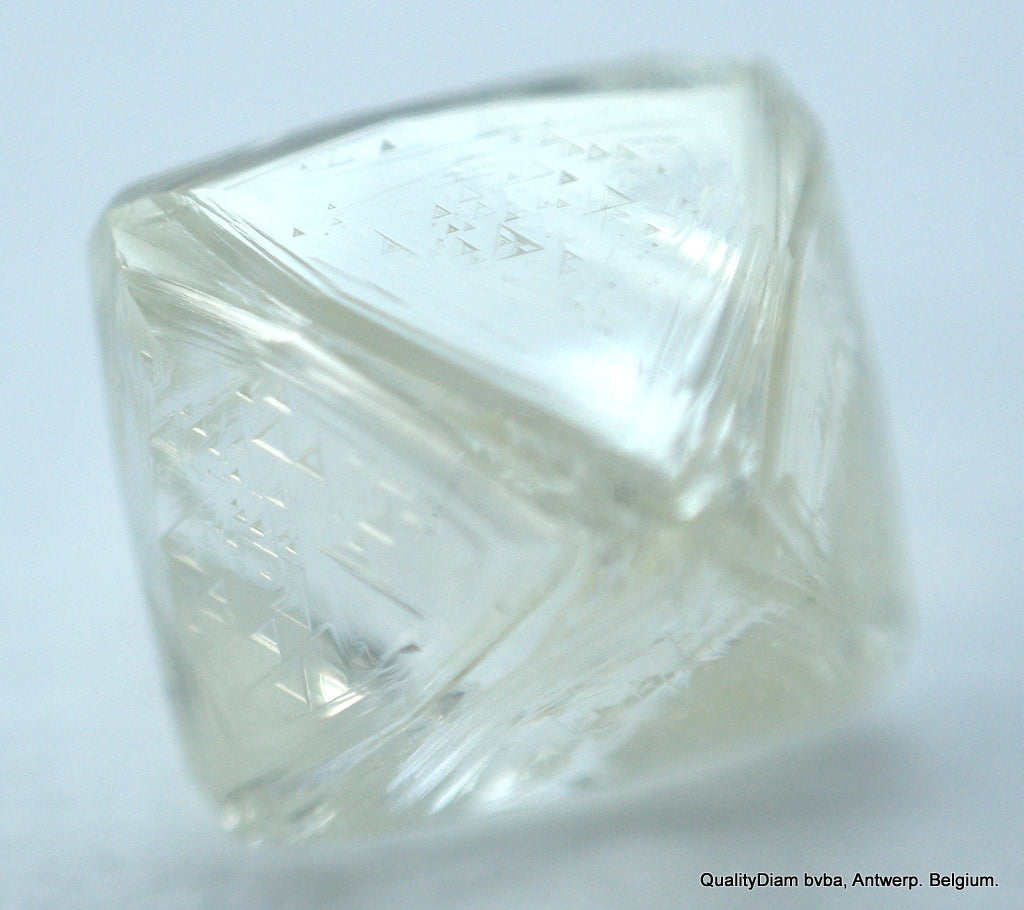 Out From Diamond Mine. Recently Mined Natural Diamond 0.64 Carat I Vs1