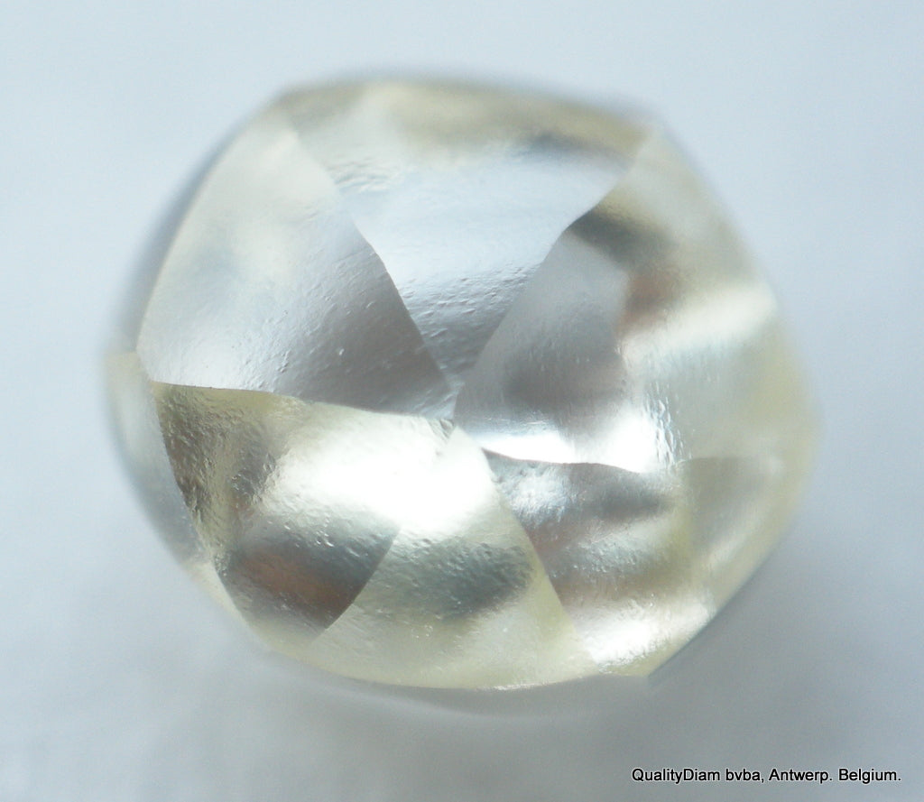 Mackle Rough Diamond Ready To Set In A Jewel. Recently Mined Uncut Diamond