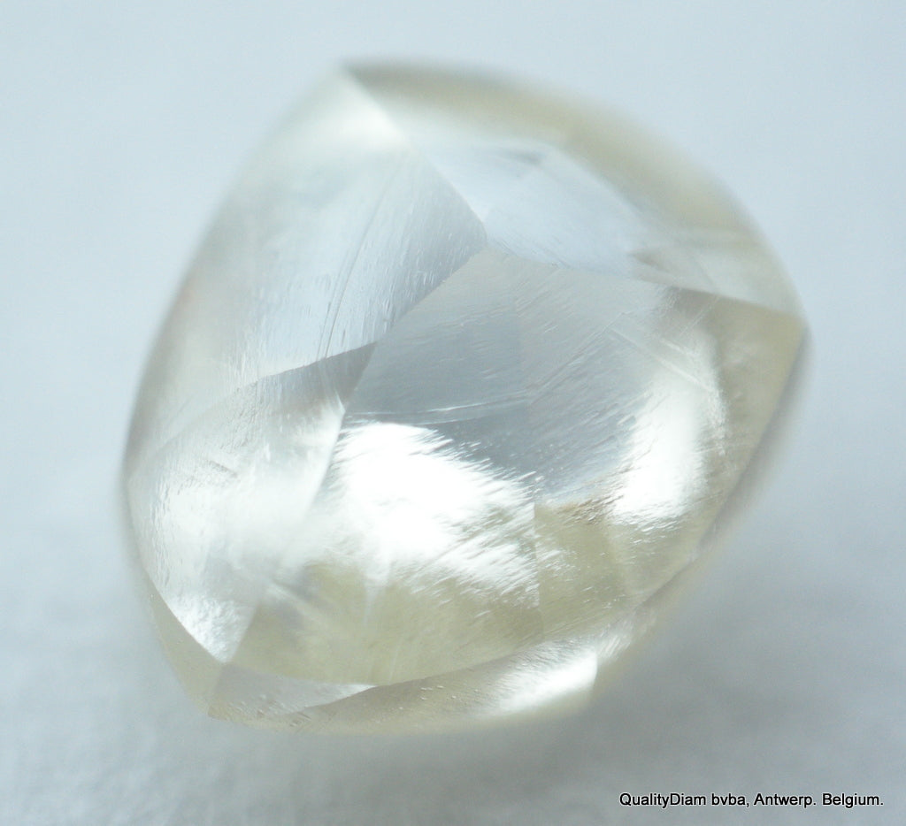 0.53 Carat Flawless Clean Diamond Mackle Uncut Rough Diamond Mined Diamond