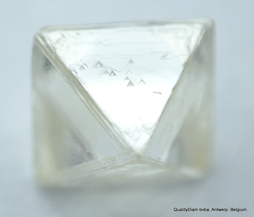 For Rough Diamonds Jewelry Buy 0.58 Carat I Flawless Octahedron Diamond Crystal