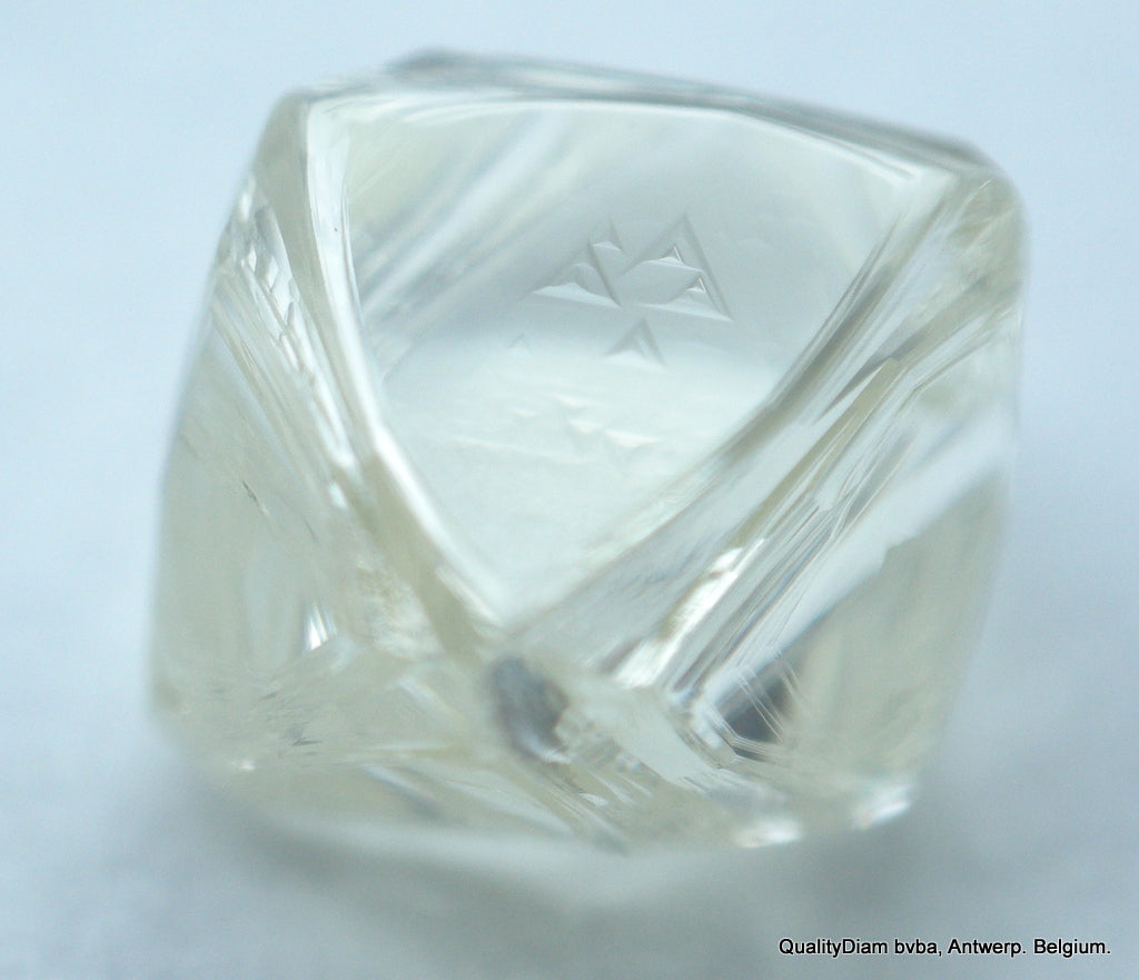 H Flawless Clean White 0.63 Carat Genuine Diamond Natural Real Diamond Uncut Raw