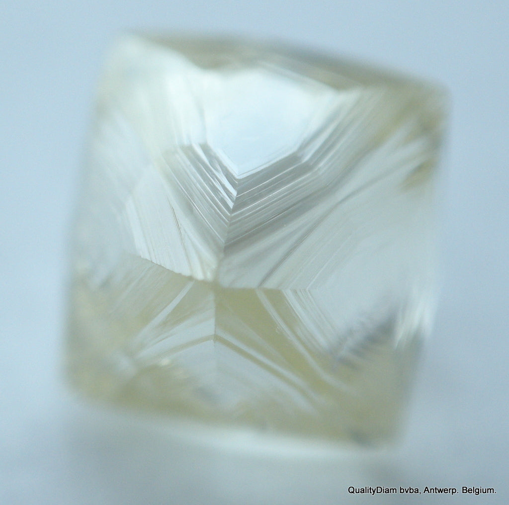 For Rough Diamonds Jewelry: Flawless 0.81 Carat Beautiful Octahedron Gem Diamond