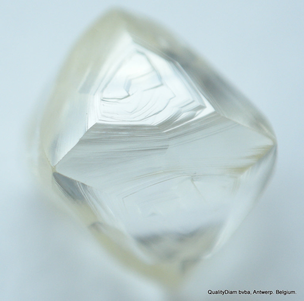 For Uncut Diamonds Jewelry: 0.83 Carat Beautiful Octahedron Shape Uncut Diamond