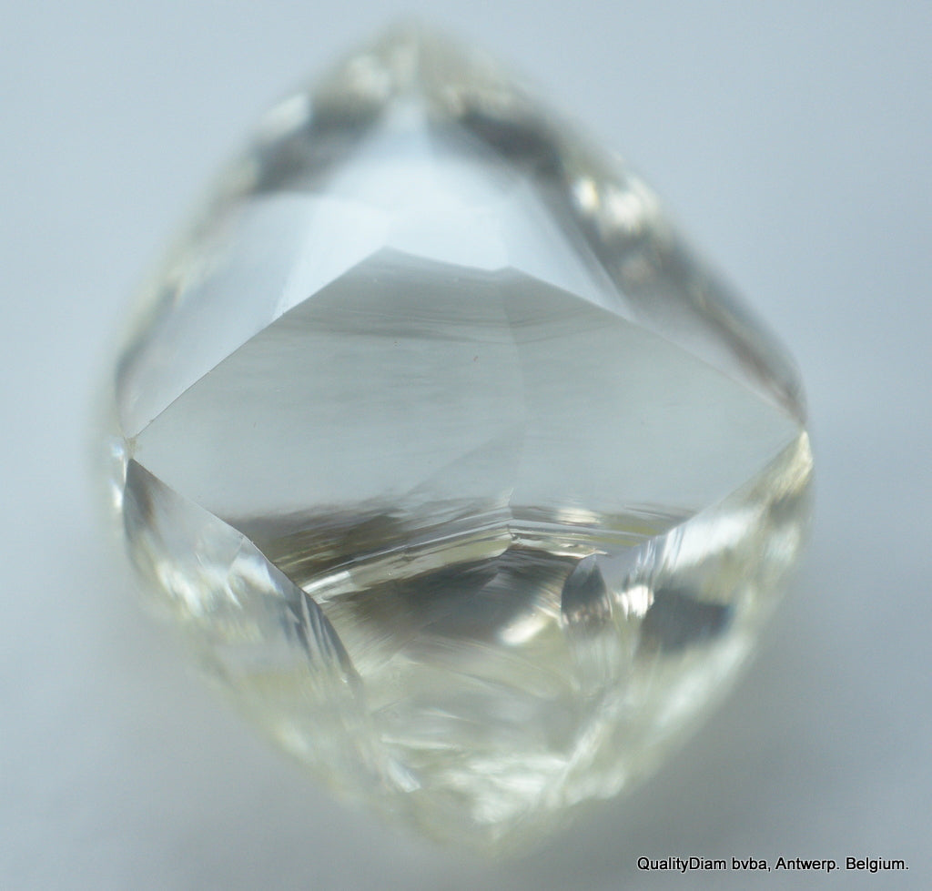1.60 Carat I Vvs1 Beautiful Octahedron Shape, Recently Mined Out Diamond Uncut